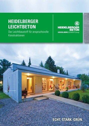 Leichtbeton - HeidelbergCement