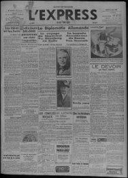 paris-1937 - Presse régionale