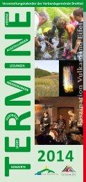 Veranstaltungskalender 2014 als PDF - Verbandsgemeinde Brohltal