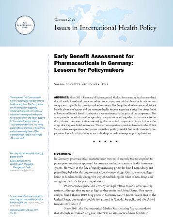 Issue Brief - The Commonwealth Fund