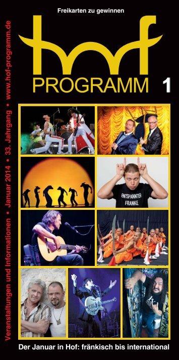 HP 01/2014 - Hof Programm