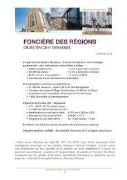 Résultats annuels 2011 - Info-financiere.fr