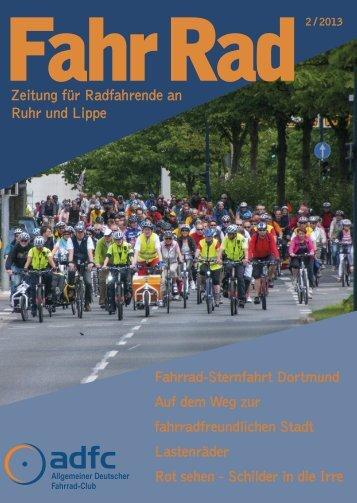 Zeitung für Radfahrende an Ruhr und Lippe Fahrrad ... - beim ADFC