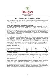 Informations financières - Info-financiere.fr