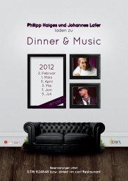 Dinner & Music - Info-Graz