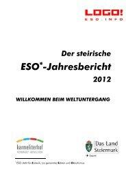 ESO Jahresbericht 2012 - LOGO Jugendmanagement Steiermark