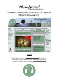 2bconfirmed - Info-Graz