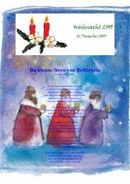 Da kloane Stern von Bethlehem - Info-Graz