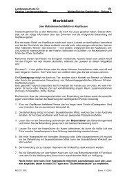 Merkblatt über Maßnahmen bei Befall von Kopfläusen - Info-Graz