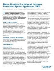 Magic Quadrant for Network Intrusion Prevention System Appliances ...