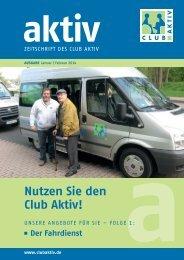 Aktuelles - Club Aktiv e.V.