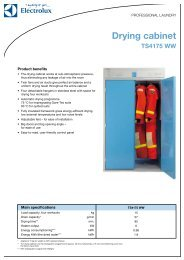 Drying cabinet - Electrolux
