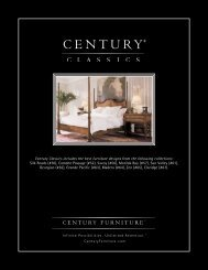 Download the Century Classics Collection ... - Century Furniture