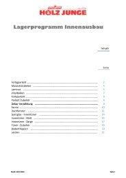 Lagerprogramm Innenausbau 2013 07 25.pdf - Holz Junge