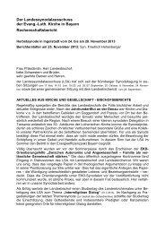 Den Bericht herunterladen - Evangelisch-Lutherische Kirche in Bayern