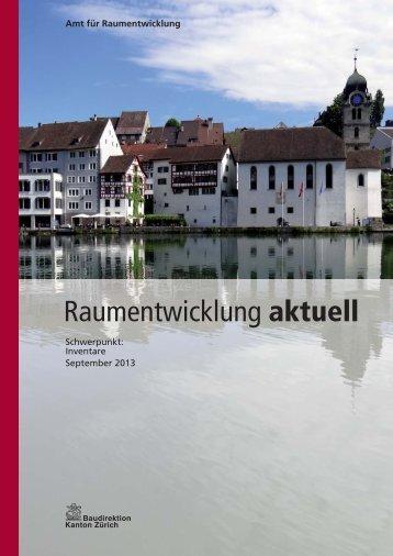 Raumentwicklung aktuell - September 2013 - Amt für ...