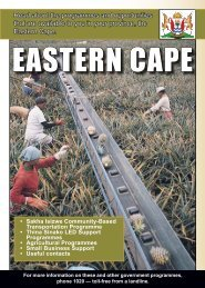 Eastern Cape - South African Government Information