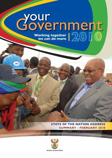 Download the PDF - South African Government Information