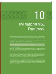 The National M&E Framework - South African Government Information