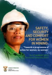 Women in Mining Conference programme