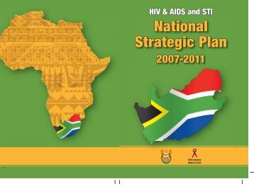 National Strategic Plan - South Africa Government Online