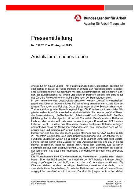 059/2013 - Bundesagentur für Arbeit