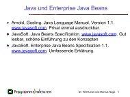 Software aus Komponenten SS 2001