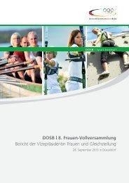 Bericht der 8. Frauen-Vollversammlung am 28. September 2013 in