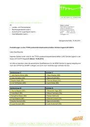 An Landes- und Honorartrainer Bezirksjugendwarte (nachr ... - TTVN