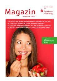 Ausgabe Nr. 2/2013 Magazin - Sparkasse Lüneburg