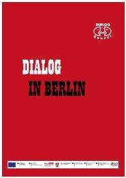 Infomappe Club Dialog e.V. 2013