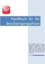 Handbuch für die Berufseingangsphase - Bildungsserver Berlin ...
