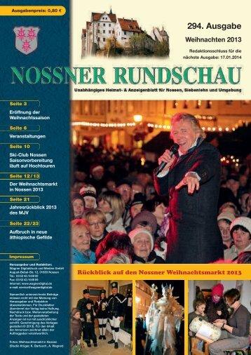 Weihnachten 2013 - nossner-rundschau.de