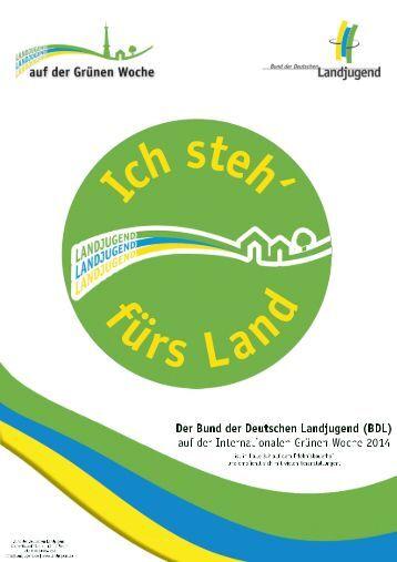 BDL-Presse zur IGW - Bund der deutschen Landjugend