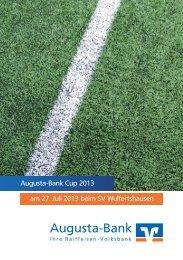 Online ansehen - Augusta-Bank eG Raiffeisen-Volksbank