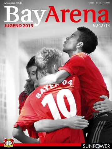 MAGAZIN JUGEND 2013 - Bayer 04 Leverkusen