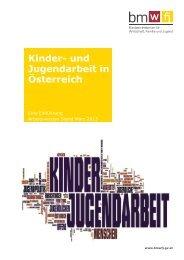 Kinder- und Jugendarbeit in Österreich - Bundesministerium für ...