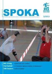 Spoka 3/2013 - Behinderten- und Versehrten-Sportverband Bayern ...