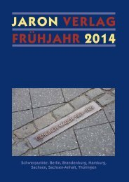 Jaron Verlag FrühJahr 2014