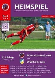 Download Stadionzeitung als PDF - SC Vorwärts-Wacker 04 Billstedt