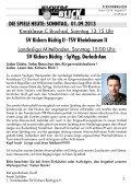 SpVgg. Durlach-Aue TSV Rheinhausen 2 - SV Kickers Büchig - Page 3