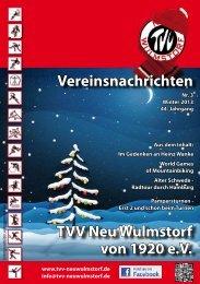 Winter 2013 - TVV Neu Wulmstorf von 1920 eV