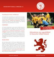 Jugendfussball - Hessischer Fußball Verband