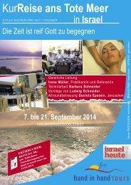 zum Prospekt (PDF) - Hand in Hand Tours