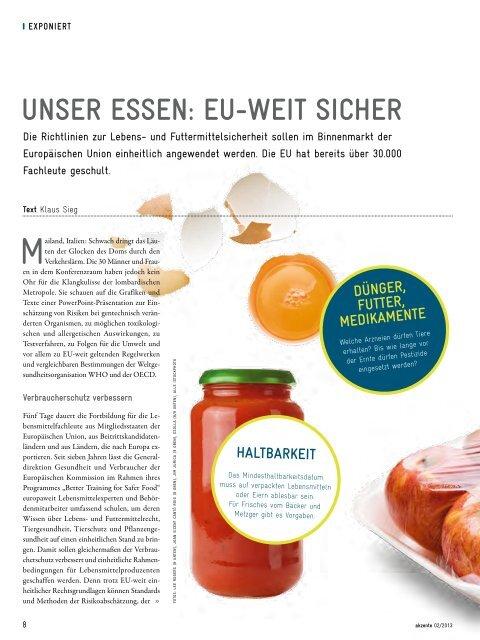 Ressource Boden – GIZ-Magazin akzente 02-2013