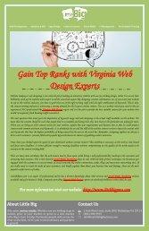 Gain Top Ranks with Virginia Web Design Experts