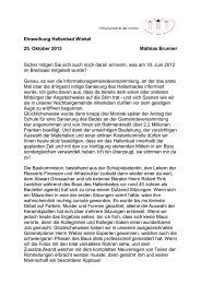 Einweihung Hallenbad Winkel 25. Oktober 2013 ... - Schule Winkel