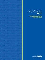 Geschäftsbericht 2012 - Dexia Kommunalbank Deutschland AG