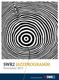 Programmdownload Dezember 2013 - Südwestrundfunk