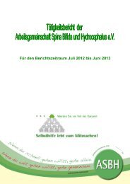 Tätigkeitsbericht - ASbH